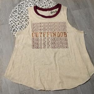Warner Bros. Intimates & Sleepwear - NWOT Harry Potter Gryffindor Tank Top Graphic Tee